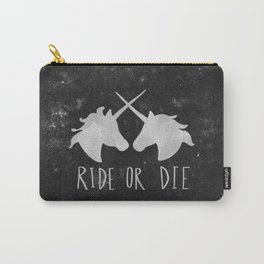 Ride or Die Unicorn Magic Carry-All Pouch