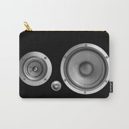 Subwoofer Speaker on black Carry-All Pouch