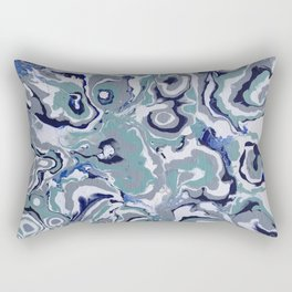 Oysters abstract Rectangular Pillow