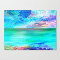 Ocean at Sunrise Canvas Print
