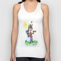 you are my sunshine Tank Tops featuring :: You Are My Sunshine :: by :: GaleStorm Artworks ::