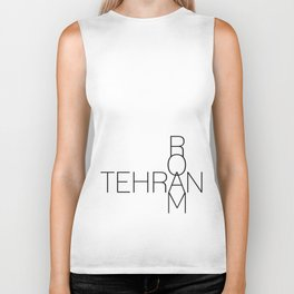 Tehran Roam too Biker Tank