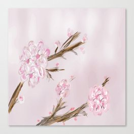 Spring Cherry Blossom Canvas Print