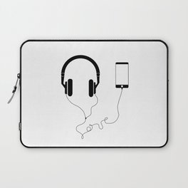 Music and love Laptop Sleeve