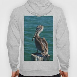 Pelican On A Pole Hoody