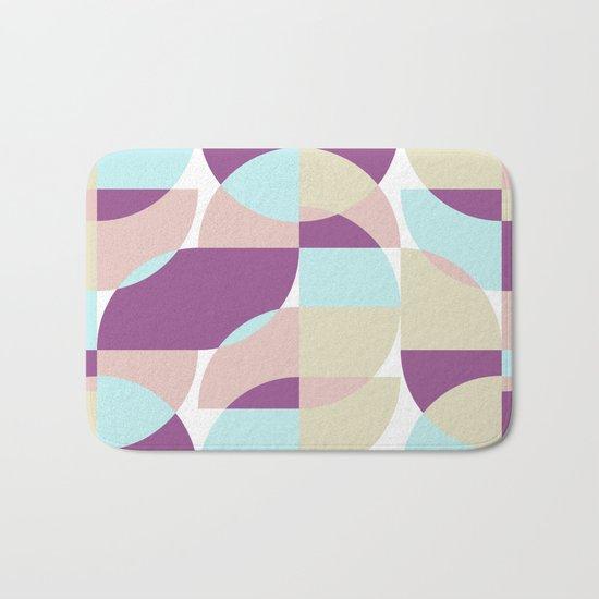 Geometric#10 Bath Mat