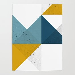 Modern Geometric 19 Poster