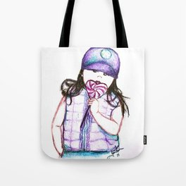 Kayla Bean; Sweets Tote Bag