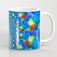 kaleidoscope Mugs featuring Kaleidoscope  by haroulita