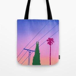 Los Angeles Dusk Tote Bag