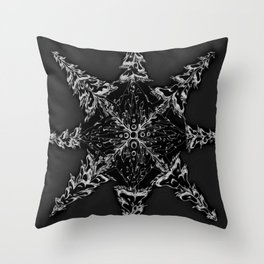 Mountain Dreamin' Mandala: Solar Edition Throw Pillow