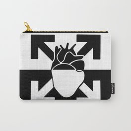 Off White Carry-All Pouch