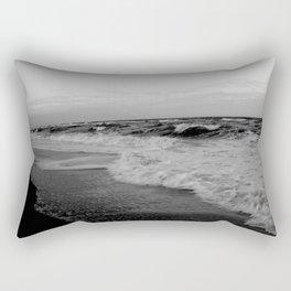 Assateague Island, Maryland: A beautiful day at the beach Rectangular Pillow