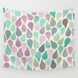Drop in a drop pastels Wall Tapestry