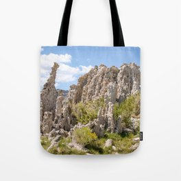 tufas and green Tote Bag