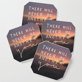 There Will Never Be Another You Coaster