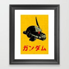 MS-06S Zaku II Framed Art Print