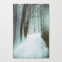 A Bleak Midwinter Canvas Print