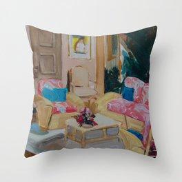 Golden Girls living room Throw Pillow