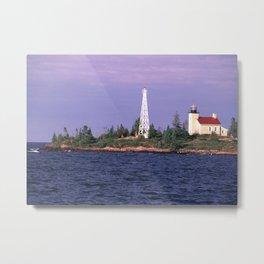 Copper Harbor Lighthouse Metal Print
