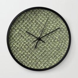 Light greyish scales Wall Clock