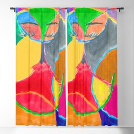 She's swimming.. Blackout Curtain