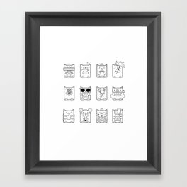 Cat of the Month Club Framed Art Print