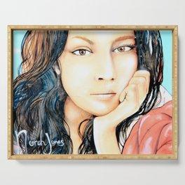 Norah Jones Mural Serving Tray
