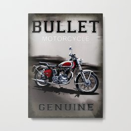 Genuine Bullet Metal Print