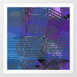 Pattern 1B Art Print