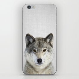 Wolf 2 - Colorful iPhone Skin