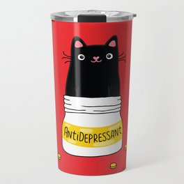 FUR ANTIDEPRESSANT Travel Mug