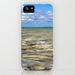 Clear Rocky Lake iPhone Case