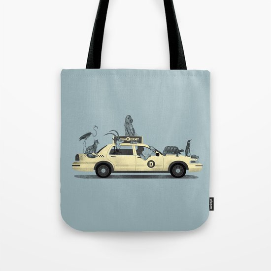 1-800-TAXI-DERMY Tote Bag