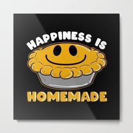 Koch Happiness Is Homemade Eating Metal Print