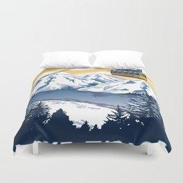lake tahoe california Duvet Cover