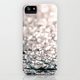 Shiny water iPhone Case