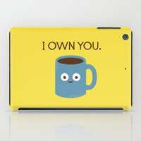 evil iPad Cases featuring Coffee Talk by David Olenick