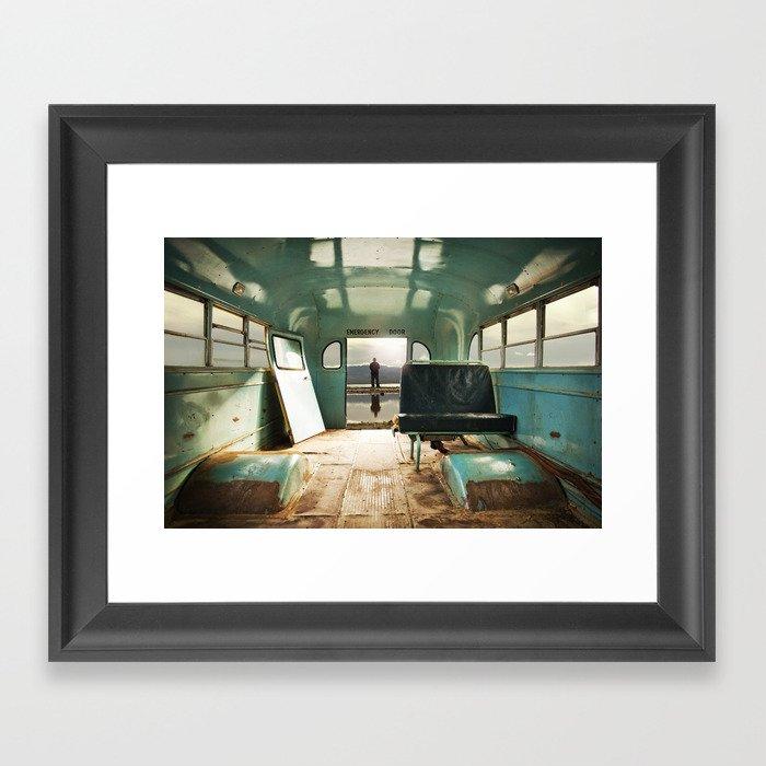 Emergency Door Framed Art Print