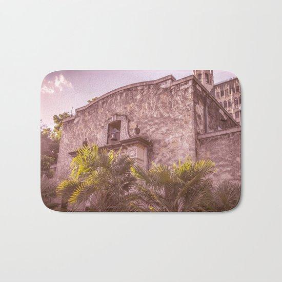 Palm Tree Summer - The Alamo Bath Mat