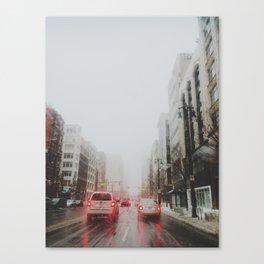 Detroit's gone missing Canvas Print