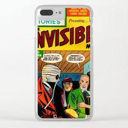 the INVISIBLE MAN Clear iPhone Case