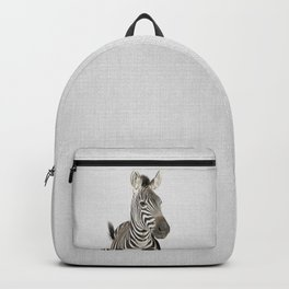 Zebra 2 - Colorful Backpack