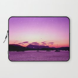 Sunset in Poros Laptop Sleeve
