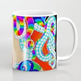 Rainbow Witch Under The Sea Coffee Mug