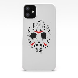 Classic Horror Movie mask of Jason Voorhees  iPhone Case