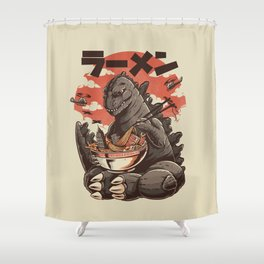 Kaiju's Ramen Shower Curtain