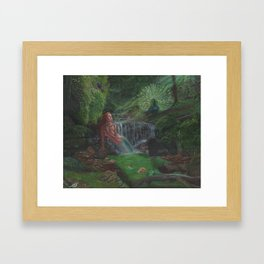 The lament of Lamia. Framed Art Print