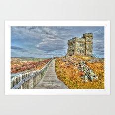 Cabot tower Art Print
