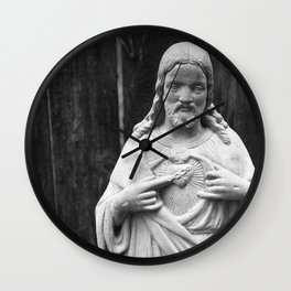 Chocolate Candy Jesus Christ Wall Clock